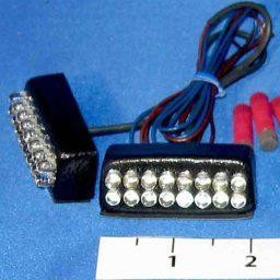 Hyper-Lite 16 LED Kit for V-Strom 1000, Flashing Brake Only