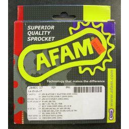AFAM Front Steel Sprocket for DL650/1000 - 17 Tooth
