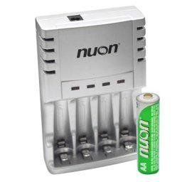 Nuon AA Batteries With 12V Charger
