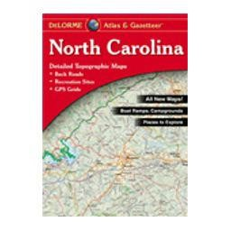 North Carolina Atlas and Gazetteer from Delorme