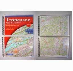 Laminated Tennessee Gazetteer