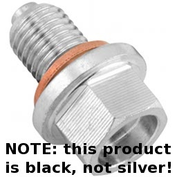 Magnetic Oil Drain Plug for XT250, WR250, KLR250, KLR650 (12mm)