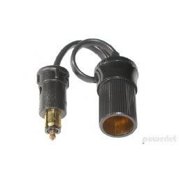 """Powerlet 10"""" Powerlet to Cigarette Socket Cable"""