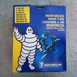 Michelin Reinforced Inner Tube 2.5-3.0-21 (90/90-21)