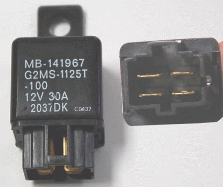 Electronic Relay, 4 pin, parallel