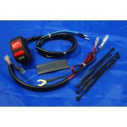 Radiator Override Harness with handlebar mounted switch