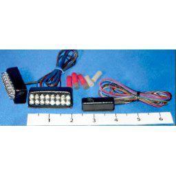 Hyper-Lites 16LED Flashing Brakes Lights w/Running Lights