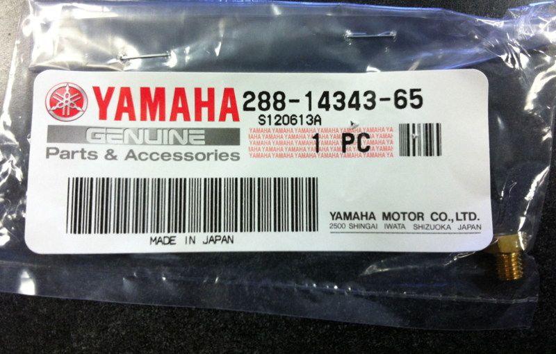 OEM Yamaha #130 Main Jet TW200