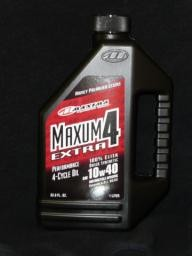 Maxum 4 Extra 100% Synthetic 10W40 Liter