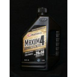 Maxima Maxum 4 50% Synthetic Blend 20W50 1L