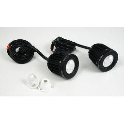 Denali D2 LED 2-Light Kit with Wiring Harness & M10 Mount
