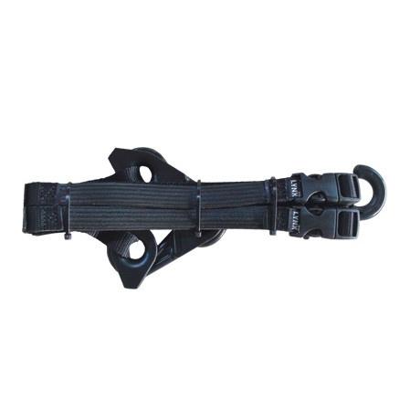 Lynx Hooks Gear Straps, Black