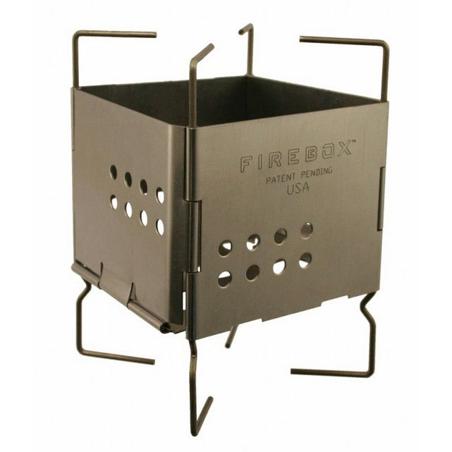 "Firebox 3"" Stainless Nano Stove"