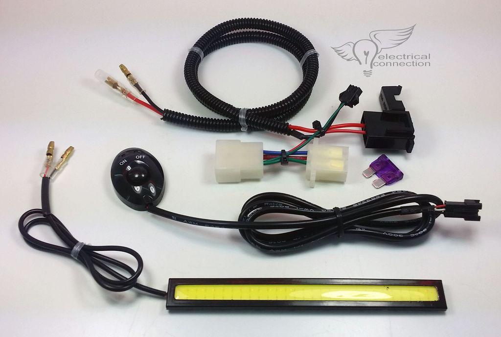 Honda PC800 LED Trunk Light Kit
