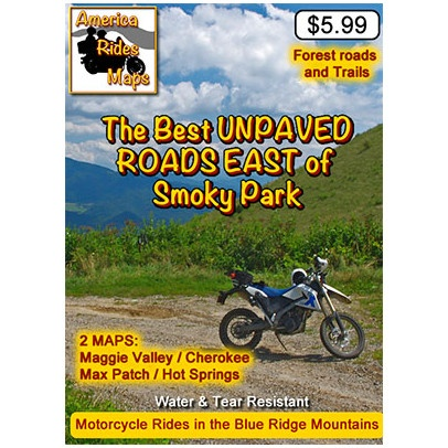 Map - The Best Unpaved Roads Near Smoky Park East