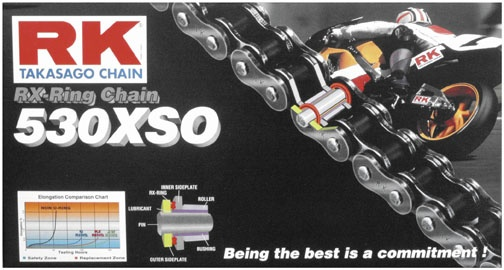 RK 530 X Ring chain 530