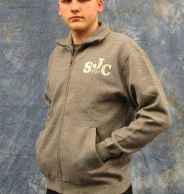 Clothing Sweatshirt-Unisex Graphite Full Zip No Hood