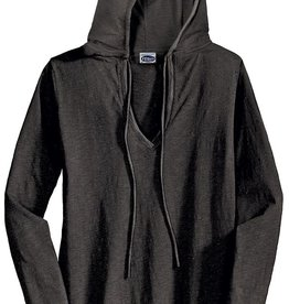 Clothing EDT241 V neck Hoodie Shirt Womens