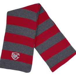 Clothing 6751 Stripe Knit Scarf
