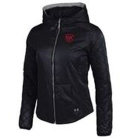 jackets UW7457 Ladies Puffer Jacket short w/hood