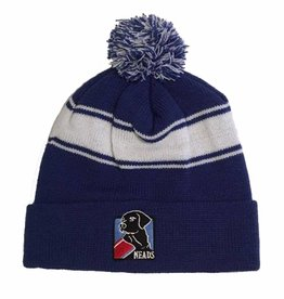 Mass Threads Knit Beanie with Pom Pom