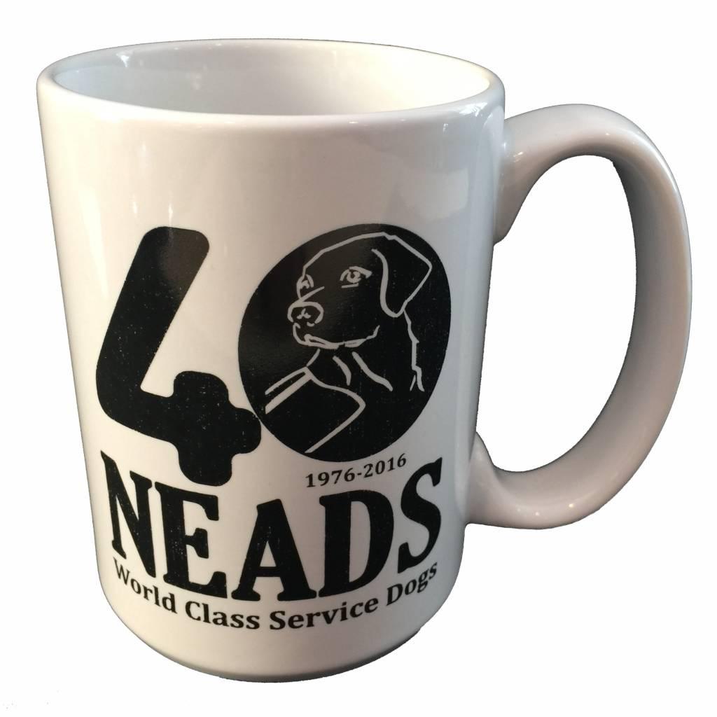 Mass Threads 40th Anniversary Coffee Mug