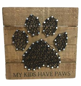 Sign-Paw String Art