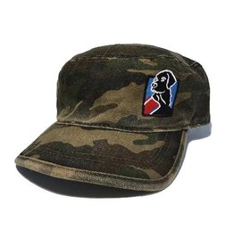 Hat- Unstructured Logo Military