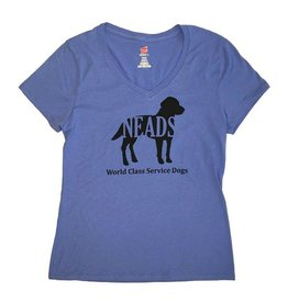 V neck-Women's NEADS Dog