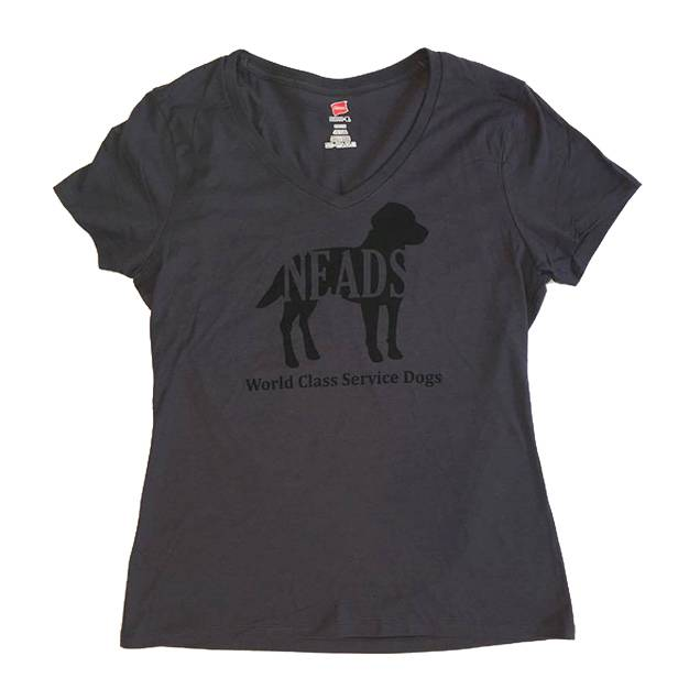 V neck-Women's NEADS Dog