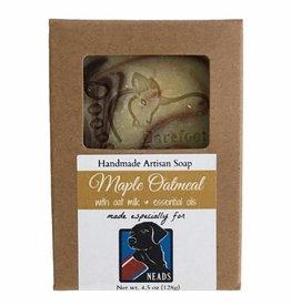 Barefoot Natural Farms Soap-Maple Oatmeal