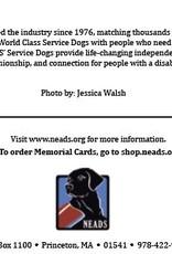 Memorial Cards-Paw Prints