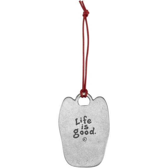 Life is Good Rocket Ornament