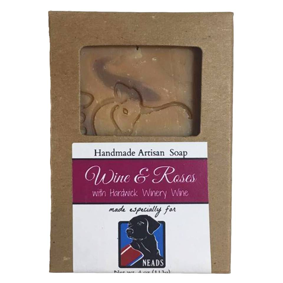 Barefoot Natural Farms Soap-Wine and Roses