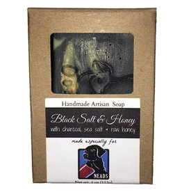 Barefoot Natural Farms Soap-Black Salt & Honey