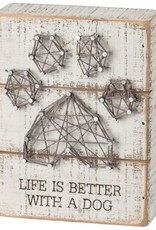 Sign-String Art Life is Better