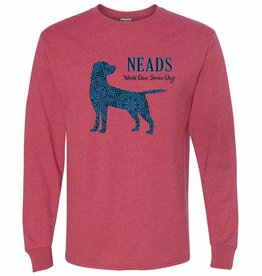 Jerzees Unisex Long Sleeve T- Pattern Dog