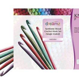 Knitter's Pride Knitter's Pride Dreamz Symfonie Wood Crochet Hook Set