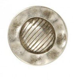 Bergere de France Set of 6 metal shank buttons, 25 mm
