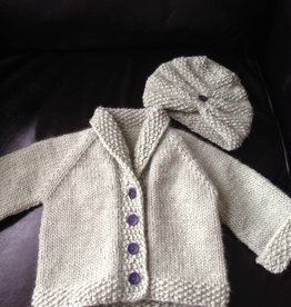 Baby Sophisticate & Turban - 6-9 m