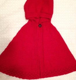 Red Riding Hood Cape - Size 6-8