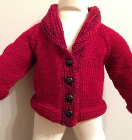 Heart Elbow Patch Cardigan