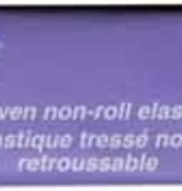 UNIQUE Woven Non-Roll Elastic 25mm x 0.9m - White