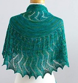 SweetGeorgia Yarns Rushing Tide Shawl