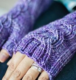 SweetGeorgia Yarns Lineal Wristwarmers