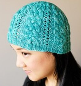 SweetGeorgia Yarns Creekside Cables Hat