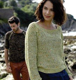 Rowan Lapsang Sweater-Tetra Cotton