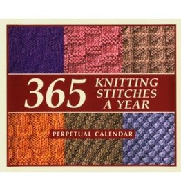365 Knitting Stitches Perpetual Calendar