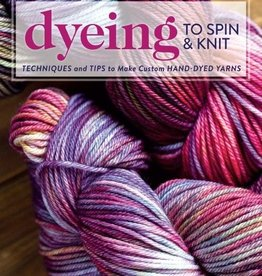 Interweave Dyeing to Spin & Knit