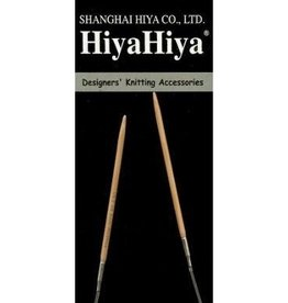 "HiyaHiya HiyaHiya 24"" (60 cm) Bamboo Circular Needles"